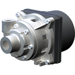 Radial impeller pumps